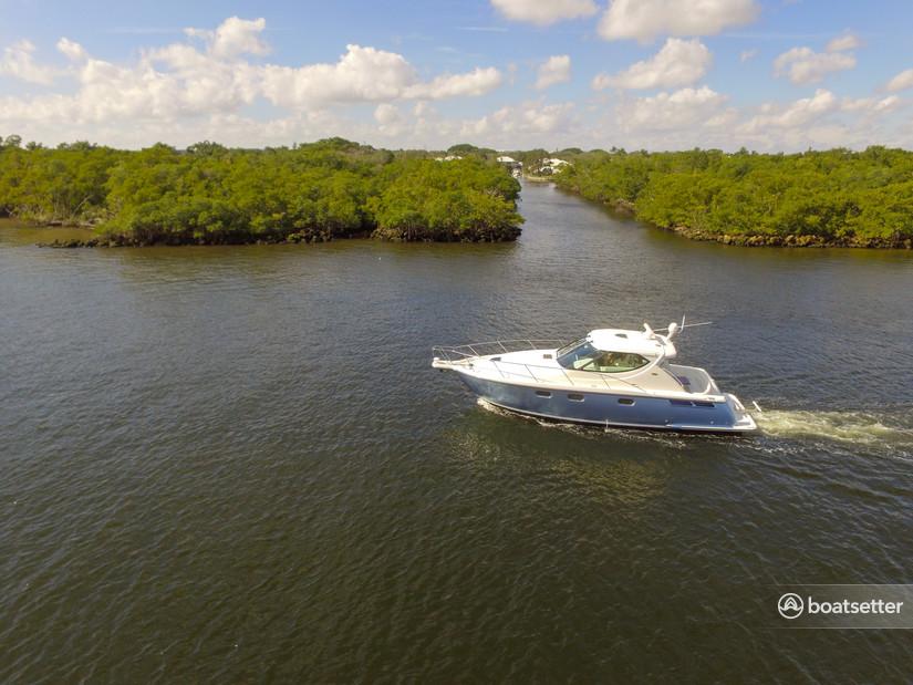 Rent a Tiara Yachts motor yacht in Boca Raton, FL near me