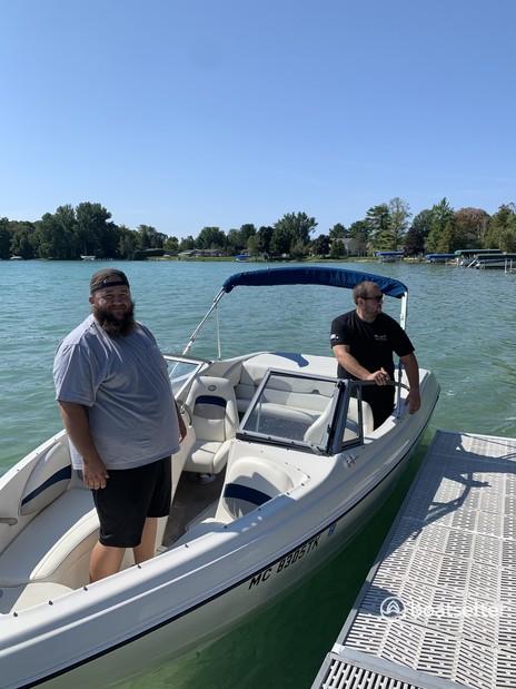 Rent a Stingray Boats bow rider in Elk Rapids, MI near me