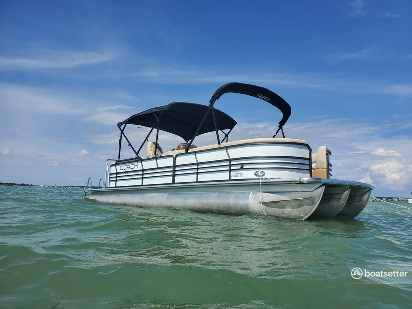 Rent a Coach Pontoons pontoon in Treasure Island, FL near me