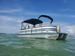 26 ft. Coach Pontoons 250RE Triple Tube Pontoon Boat Rental Tampa Image 14