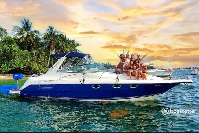 Rent a Monterey Boats cruiser in North Bay Village, FL near me