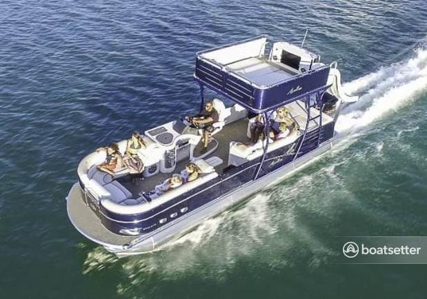 Rent a Tahoe pontoon in Clearwater, FL near me