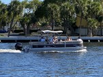 22 ft. Sun Tracker by Tracker Marine Party Barge 22 DLX w/90ELPT 4-S Pontoon Boat Rental Miami Image 5