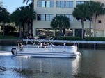 24 ft. Lowe Pontoons SS250 Mercury Pontoon Boat Rental Miami Image 7
