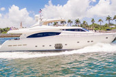 88 ft. Ferretti Yachts Mega Yacht Boat Rental Miami Image 19
