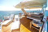 76 ft. 78 Azimut Motor Yacht Boat Rental Miami Image 1