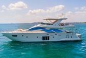76 ft. 78 Azimut Motor Yacht Boat Rental Miami Image 26