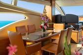 76 ft. 78 Azimut Motor Yacht Boat Rental Miami Image 57