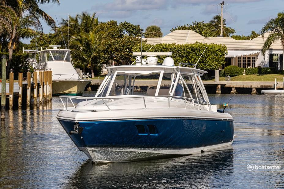 Rent a Intrepid Powerboats express cruiser in Boynton Beach, FL near me