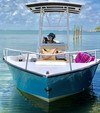 19 ft. Palm Beach by Marine Mfg. Whitecap 187 CC Center Console Boat Rental Miami Image 4