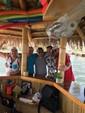 16 ft. Floating Tiki Bar  Pontoon Boat Rental Miami Image 5