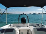 18 ft. Bayliner Element XL 4-S Mercury  Bow Rider Boat Rental Miami Image 6