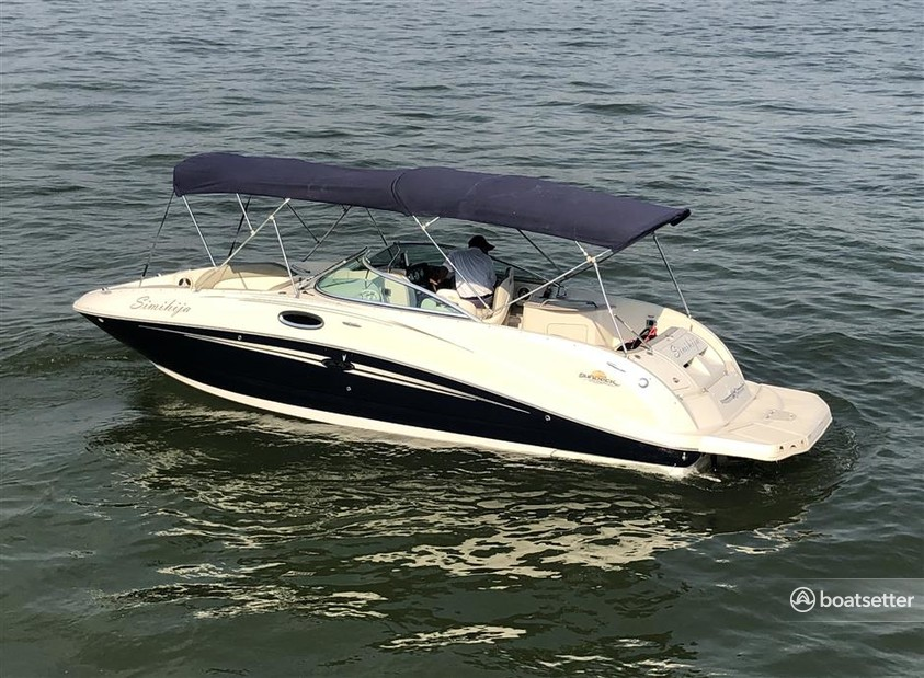 Rent a Sea Ray Boats deck boat in Sarasota, FL near me