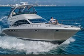 52 ft. Sea Ray Boats 52 Sedan Bridge Flybridge Boat Rental Miami Image 2