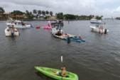 25 ft. Hampton by Playcraft 2485 RL Pontoon Boat Rental Miami Image 4