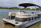 20 ft. Misty Harbor 225CR Adventure Pontoon Boat Rental Miami Image 15