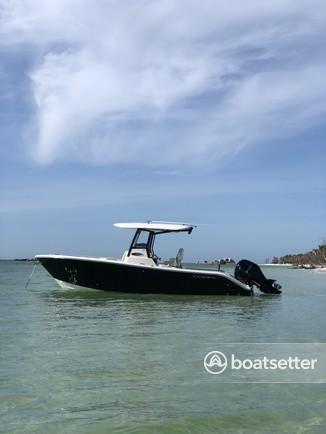 Rent a Cobia Boats center console in Cortez, FL near me