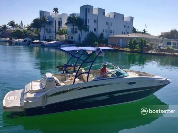 Rent a Sea Ray Boats bow rider in North Miami, FL near me