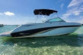 24 ft. Chaparral Boats 246 SSi Bow Rider Boat Rental Miami Image 10