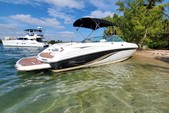 24 ft. Chaparral Boats 246 SSi Bow Rider Boat Rental Miami Image 9
