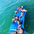 20 ft. Sun Chaser 2000 Pontoon Boat Rental Miami Image 3