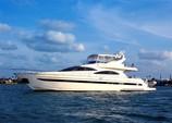 76 ft. astondoa 72 Cruiser Boat Rental Miami Image 9
