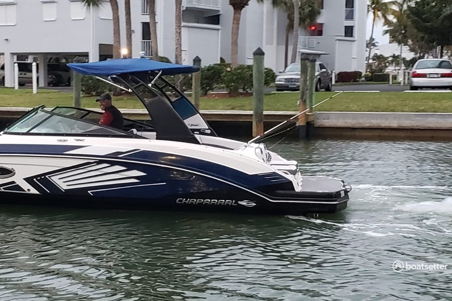 Rent a Chaparral Boats jet boat in Fort Myers Beach, FL near me