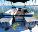 23 ft. Hurricane Fundeck  Deck Boat Boat Rental Tampa Image 9