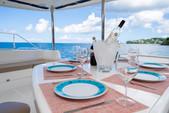 50 ft. Leopard Powercat Catamaran Boat Rental Marigot Bay Image 10