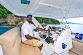 50 ft. Leopard Powercat Catamaran Boat Rental Marigot Bay Image 14
