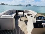 25 ft. Harris FloteBote 240 Solstice SL Verado Pontoon Boat Rental Miami Image 3