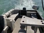 25 ft. Harris FloteBote 240 Solstice SL Verado Pontoon Boat Rental Miami Image 4