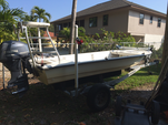 16 ft. Flamingo Express Back Bay Flats Boat Skiff Boat Rental Fort Myers Image 3