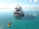 100 ft. Azimut Yachts 100 Jumbo Mega Yacht Boat Rental Miami Image 2