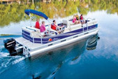 26 ft. Sun Tracker by Tracker Marine Party Barge 24 DLX w/115ELPT 4-S Pontoon Boat Rental Rest of Southeast Image 5