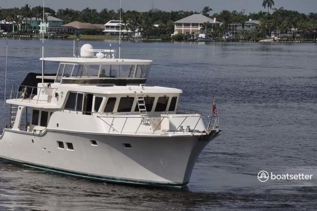 Rent a Offshoree motor yacht in Bellingham, WA near me