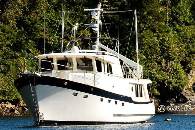 Rent a Kadey-Krogen Yachts motor yacht in Bellingham, WA near me