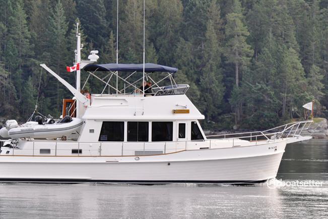 Rent a Grand Banks motor yacht in Bellingham, WA near me