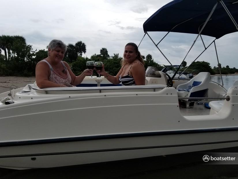 Rent a Key West Boats deck boat in Dania Beach, FL near me