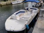 22 ft. Key West Boats 210 LS Oasis Deck Boat Boat Rental Miami Image 3