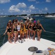 61 ft. Viking Motor Yacht Boat Rental Miami Image 7
