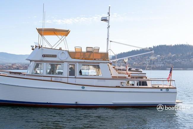 Rent a Grand Banks trawler in Bellingham, WA near me