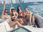 24 ft. Chaparral Boats 246 SSi Bow Rider Boat Rental Miami Image 7