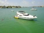 51 ft. Sealine Boats T-51 Flybridge Boat Rental Miami Image 2
