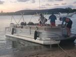26 ft. Sun Tracker by Tracker Marine Party Barge 24 DLX w/60ELPT 4-S Pontoon Boat Rental Miami Image 8