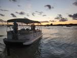 26 ft. Sun Tracker by Tracker Marine Party Barge 24 DLX w/60ELPT 4-S Pontoon Boat Rental Miami Image 9