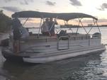 26 ft. Sun Tracker by Tracker Marine Party Barge 24 DLX w/60ELPT 4-S Pontoon Boat Rental Miami Image 10