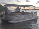 26 ft. Sun Tracker by Tracker Marine Party Barge 24 DLX w/60ELPT 4-S Pontoon Boat Rental Miami Image 11