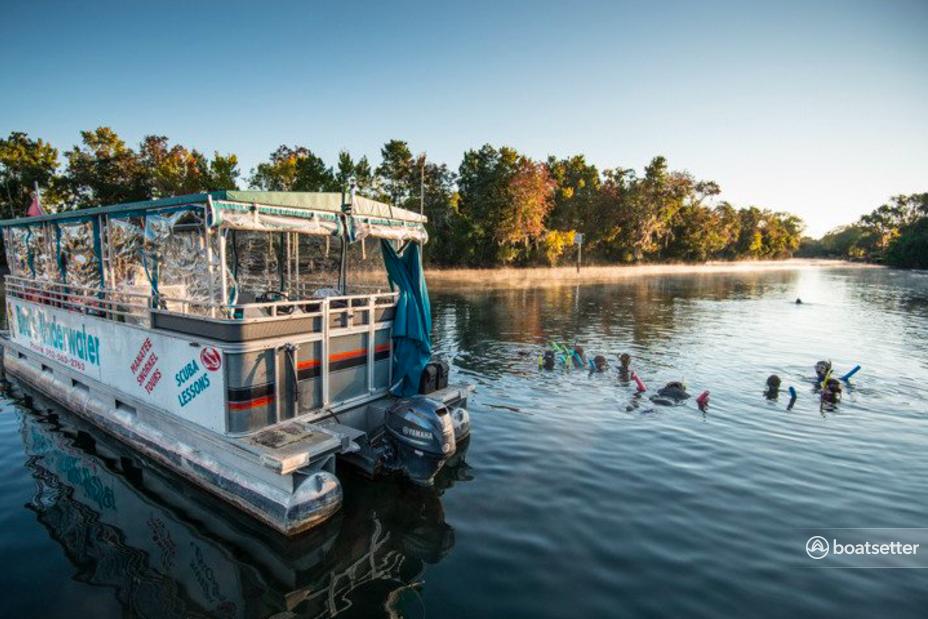 Rent a Avalon Pontoons pontoon in Crystal River, FL near me