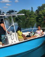 19 ft. Palm Beach by Marine Mfg. Whitecap 187 CC Center Console Boat Rental Miami Image 11